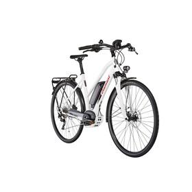 Diamant Elan+ G - Vélo de trekking électrique - Trapez blanc